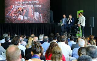 Vicente López reunió a cientos de pymes que podrían ser proveedoras de Vaca Muerta