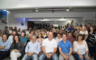 Martiniano Molina y Sánchez Zinny lanzaron en Quilmes la Mesa Distrital de Política Educativa