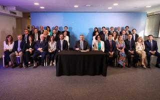 El gabinete completo de Alberto Fernández y Cristina Kirchner