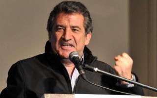 Urribarri criticó al massismo en La Plata.