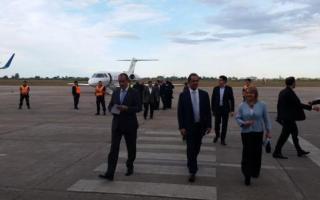 Llegada de Scioli a Tucumán.