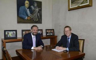 Gustavo Marangoni se reunió con Juan Curutchet, designado para conducir la entidad a partir del 10 de diciembre