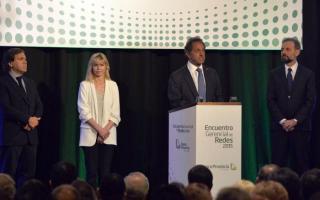 Scioli encabezó acto de Encuentro Gerencial de Redes 2015.