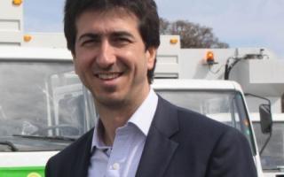 Edgardo Cenzón,  Ministro de Infraestructura y Servicios Públicos de la Pcia. de Bs. As.