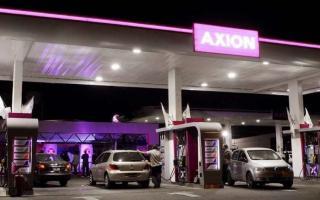 Axión se sumó al incremento del precio del combustible. Foto: Prensa