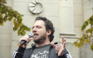 """El titular de la AJB aseguró que es """"insuficiente"""" lo ofrecido por el Gobierno.Foto: Asociación Judicial Bonaerense"""
