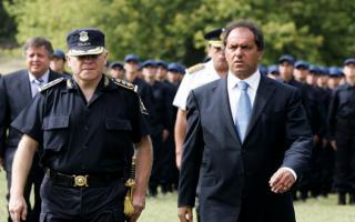 Scioli reforzará la presencia policial.