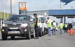 Reforzarán controles con más 5 mil efectivos policiales en las rutas. Foto: Prensa