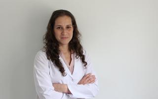 La Dra. Valeria Fink, infectóloga de la Fundación Huésped.