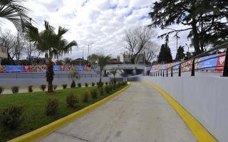 """Tigre: Zamora inauguró el túnel """"Intendente Hiram Antonio Gualdoni"""" junto a intendentes de la región"""