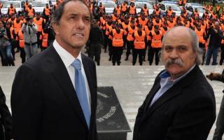 Scioli presentó el proyecto junto al Ministro Granados.