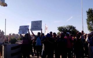 Vecinos de Beruti continúan sin una respuesta al pedido de pase libre. Foto: Prensa