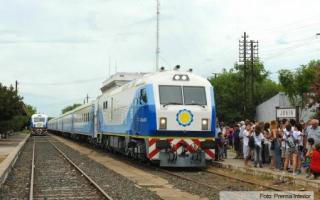 El tren regresa el 27 de febrero.