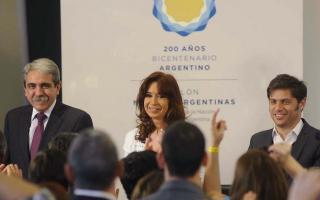 Presidenta Cristina Fernández de Kirchner, desde Casa de Gobierno.