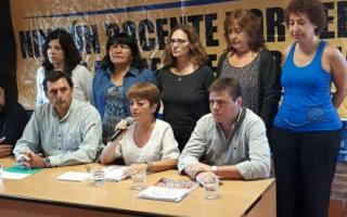 El FUD reclamó una urgente convocatoria a María Eugenia Vidal. Foto: Prensa