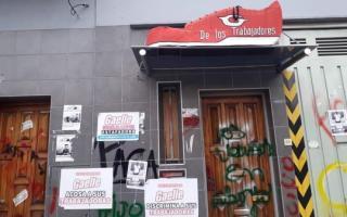 La toma es en la sede de la calle Mario Bravo 1965. Foto: DIB