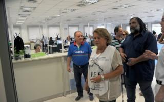 Docentes fueron a Trabajo para pedir una paritaria urgente. Foto: Prensa