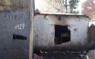 La vivienda del incendio. Foto: Primer Plano online.