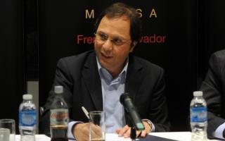 Giustozzi recorrió municipios de la Quinta Sección
