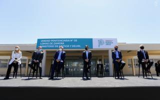 Lomas de Zamora: Inauguraron hospital penitenciario en la Unidad 58 y anunciaron continuidad de ampliación de plazas en cárceles