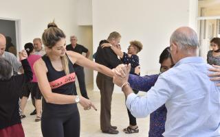 La Tangoterapia llegó al Hospital de Rehabilitación Arnoldo Drozdowsky de Malvinas Argentinas