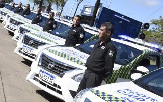 Malvinas Argentinas sumó diez nuevos patrulleros a su flota municipal