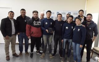 Alumnos de escuela de Grand Bourg desarrollaron un satélite único en el país