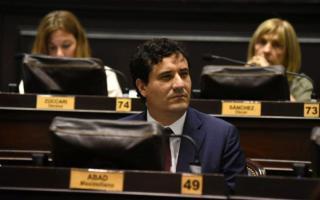 Abad es el presidente del bloque de Cambiemos en la Cámara de Diputados de la provincia de Buenos Aires.