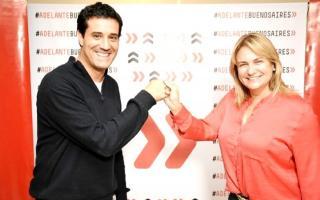 Maximiliano Abad y Erica Revilla