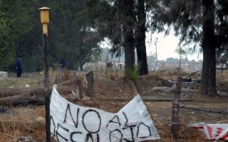 """""""No al desalojo"""""""