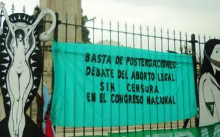 La Campaña Nacional por el por el Derecho al Aborto Legal, Seguro y Gratuito está vigente desde el 2005