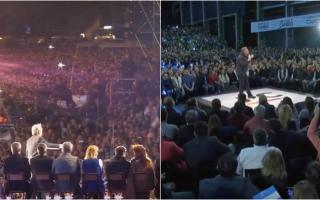 Macri y Fernández comenzaron a cerrar la campaña de las PASO en el interior del país