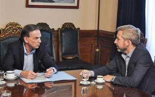 Pichetto y Frigerio, en conversaciones para un acuerdo de diez puntos (Archivo)