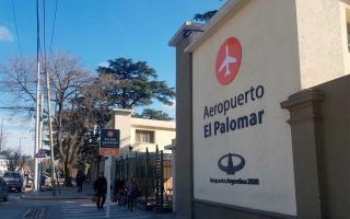 Aeropuerto de El Palomar - Foto: El Ciudadano web