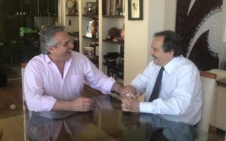 A once días de asumir, Alberto Fernández recibió a Ricardo Alfonsín