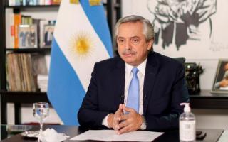Alberto Fernández se disculpó con el personal médico
