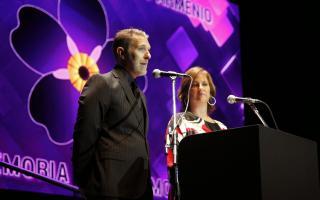 Alejandro Fantino y Laura Yorghanjián