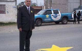 Julio Ambrosio, referente de la Campaña, en Jujuy. Foto Facebook