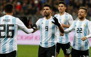 Argentina se mide ante Nigeria. Foto: La Nación