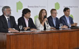 Anuncios de Vidal: Créditos para textil y calzado, entre los sectores más golpeados por la crisis