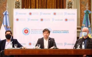 """""""El objetivo es bajar los casos, no creemos que la solución sea flexibilizar"""", dijo Kicillof"""
