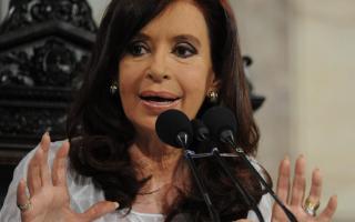 Cristina puso mayor énfasis en el balance de gestión que en los anuncios.