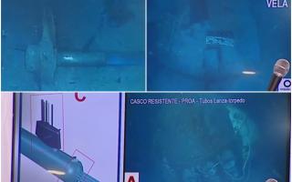 Apareció el ARA San Juan: Primeras imágenes del submarino hundido