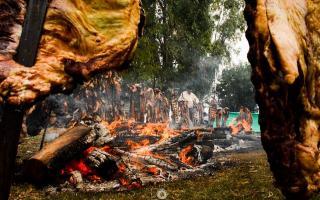 10º Fiesta del Asado Pampeano en Juan Eulogio Barra.