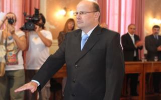 Giovanettoni juró por la Patria, los Santos Evangelios y sus Padres. Foto: LaNoticia1.com