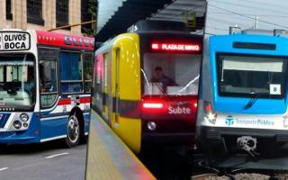 Vuelve a aumentar el transporte público este lunes