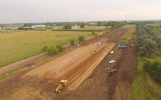 Autopista Cañuelas - Azul: Comenzaron las obras de la primera etapa