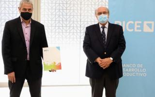 Avellaneda: Ferraresi firmó convenio con el Banco de Inversión y Comercio Exterior para compra de maquinaria