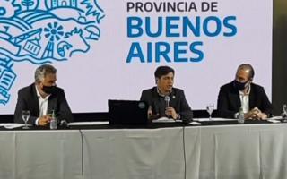 Kicillof en Bahía Blanca (Imagen: Apepe)