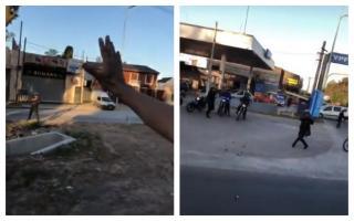 La policía disparó contra los hinchas de Vélez que se trasladaban en varios micros.